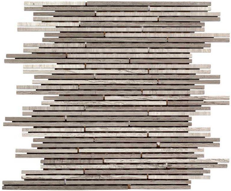 Wood Stone Stick White