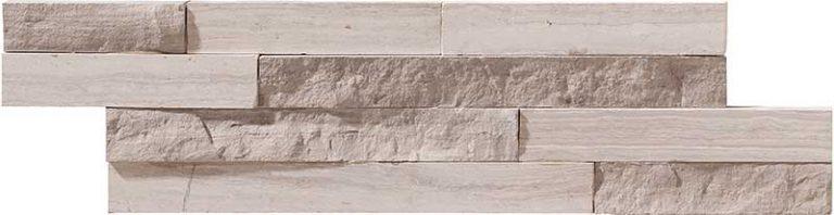 Mini Nat-Stone Wood White