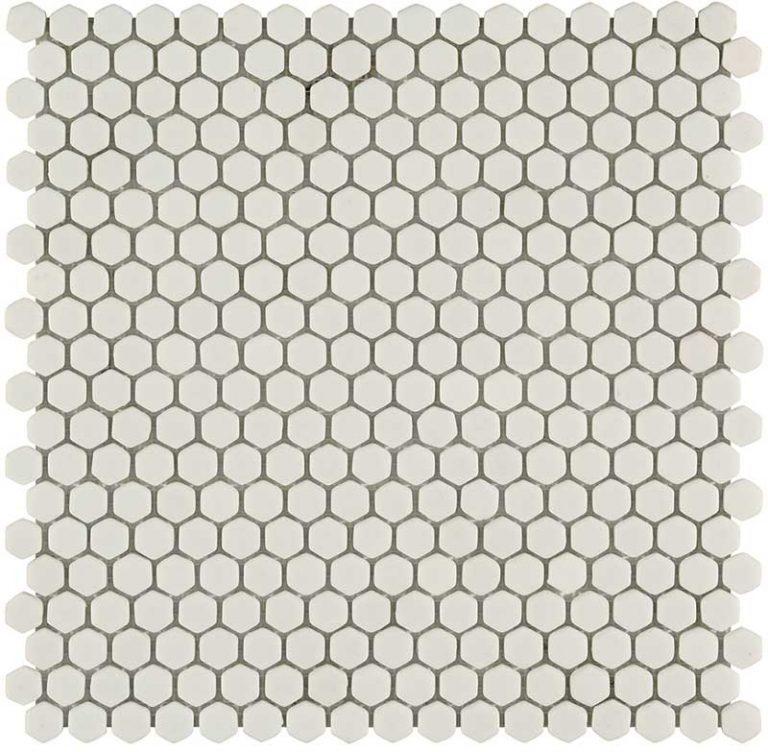 Hexagon White Matt