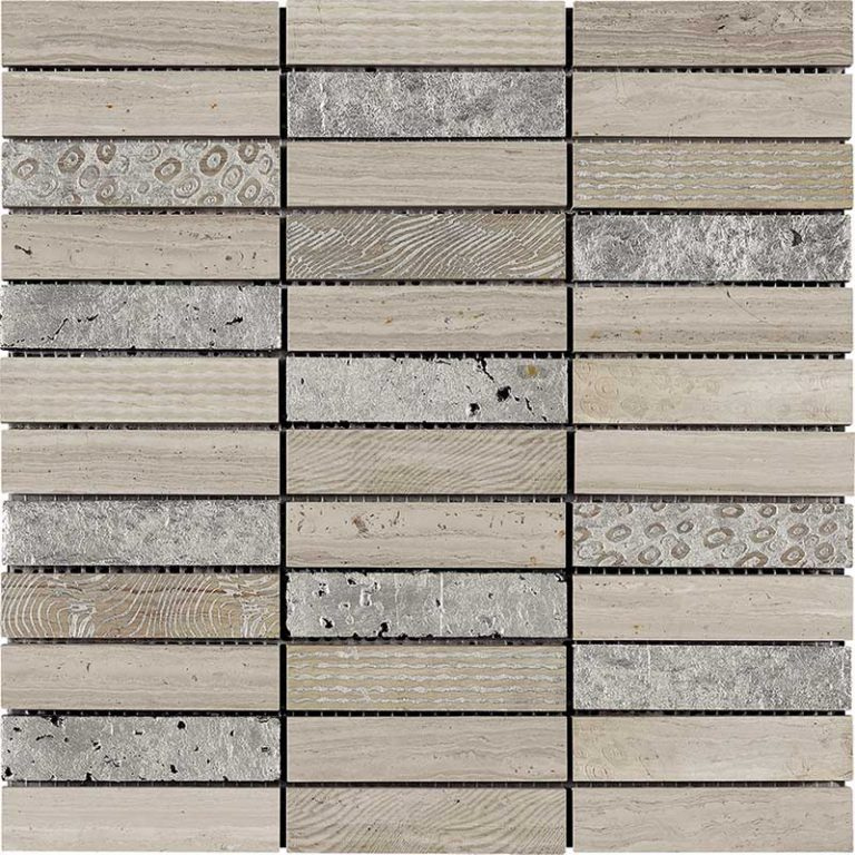 Patchwork White Wood